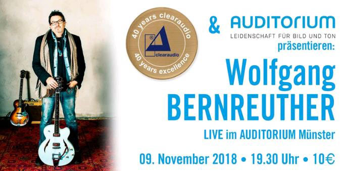 Wolfgang Bernreuther Live im Auditorium Münster