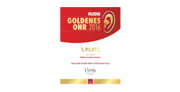 Urkunde Goldenes Ohr 2016 audio