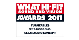 What HiFi Best Turntable 2011