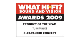 What HiFi Product of the year 2009