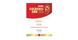 Urkunde Goldenes Ohr 2017 stereoplay