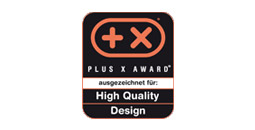 Plus X - High Quality Design award