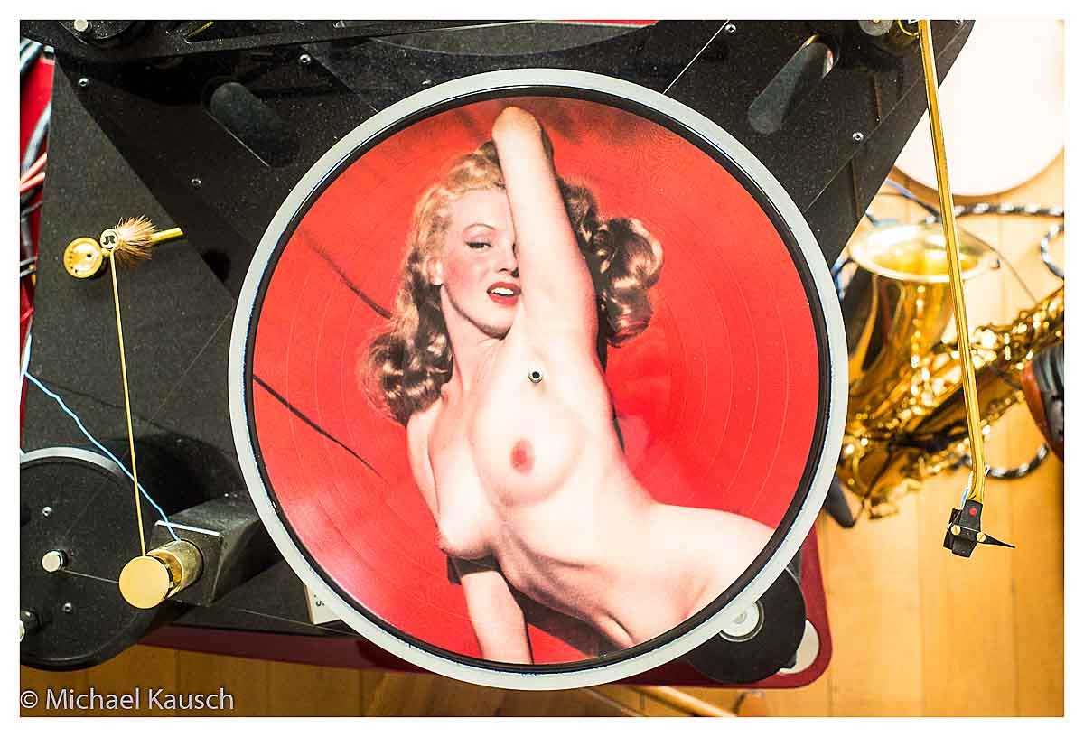 picture disc Monroe