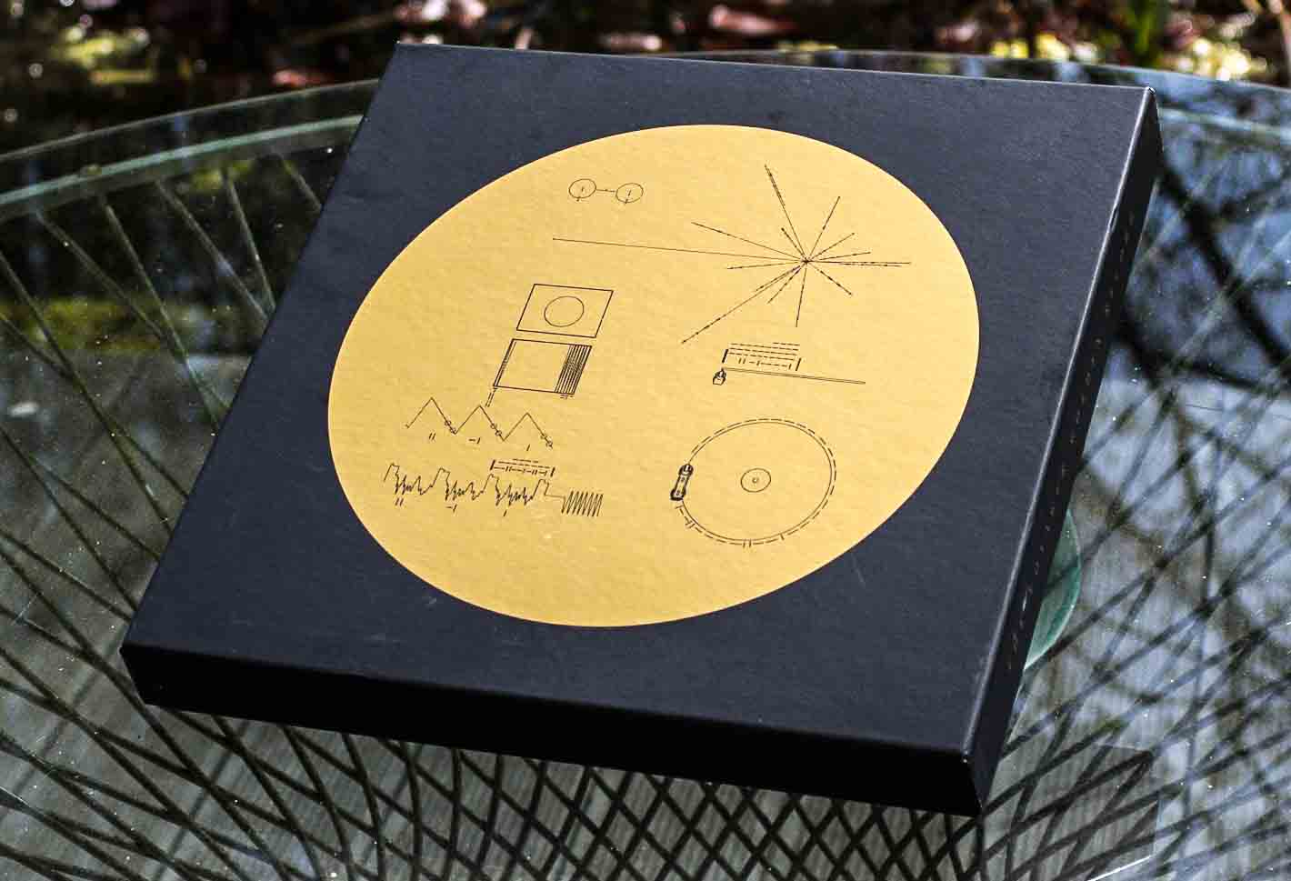Voyager Golden Record Box